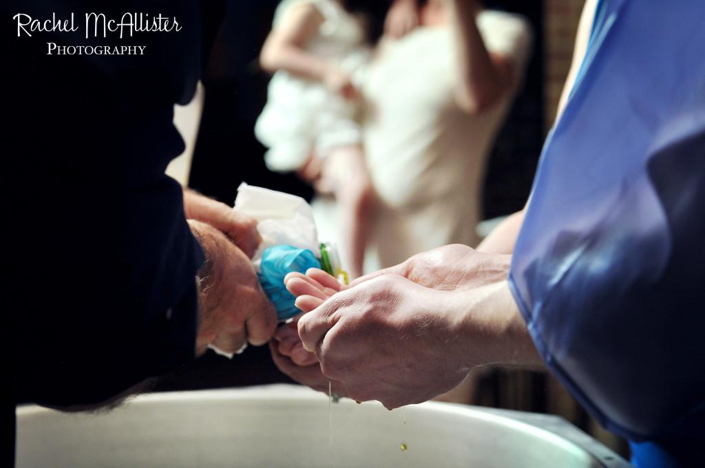Olkiewicz Baptism, Holy Apostles, Westchester, Illinois