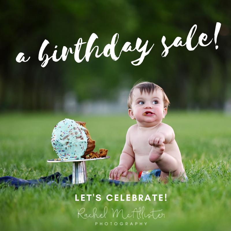 a birthday sale | chicago & western suburbs newborn & family photographer