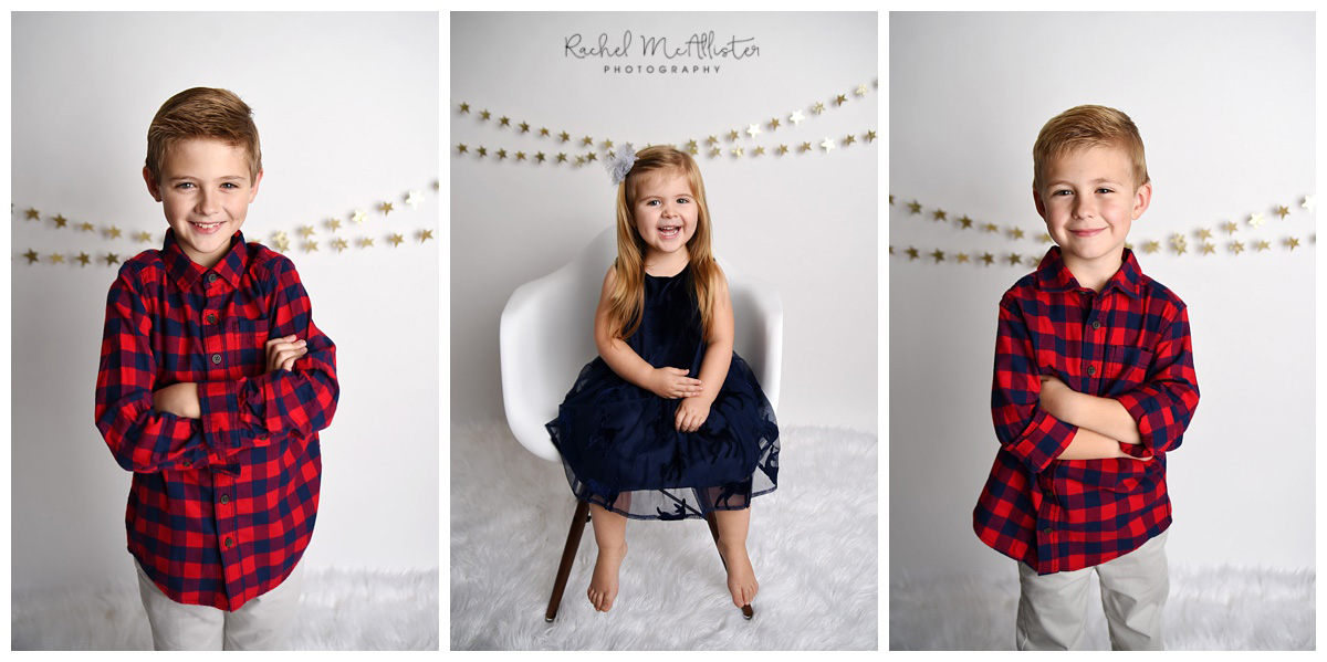 Christmas studio sessions | chicago western suburbs photographer